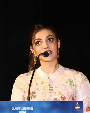 Kajal Aggarwal - Comali Tamil Movie Press Meet Photos | Picture 1672032