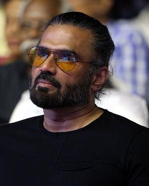Sunil Shetty - Dharbar Movie Audio Launch Photos