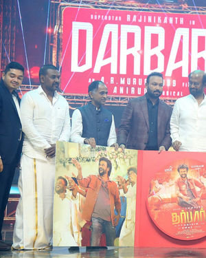 Dharbar Movie Audio Launch Photos