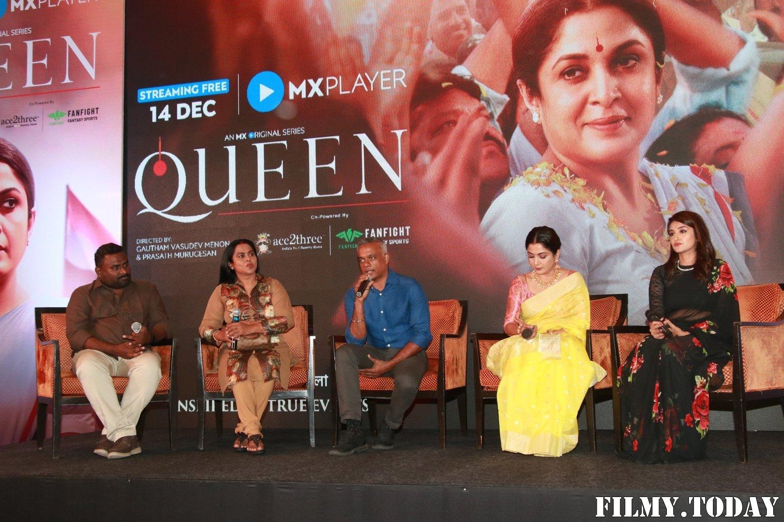Queen Tamil Web Series Press Meet Photos   Picture 1706391