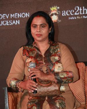 Viji Chandrasekhar - Queen Tamil Web Series Press Meet Photos