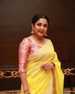 Ramya Krishnan - Queen Tamil Web Series Press Meet Photos