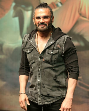 Sunil Shetty - Photos: Trailer Launch Of Film Darbar At Pvr Juhu