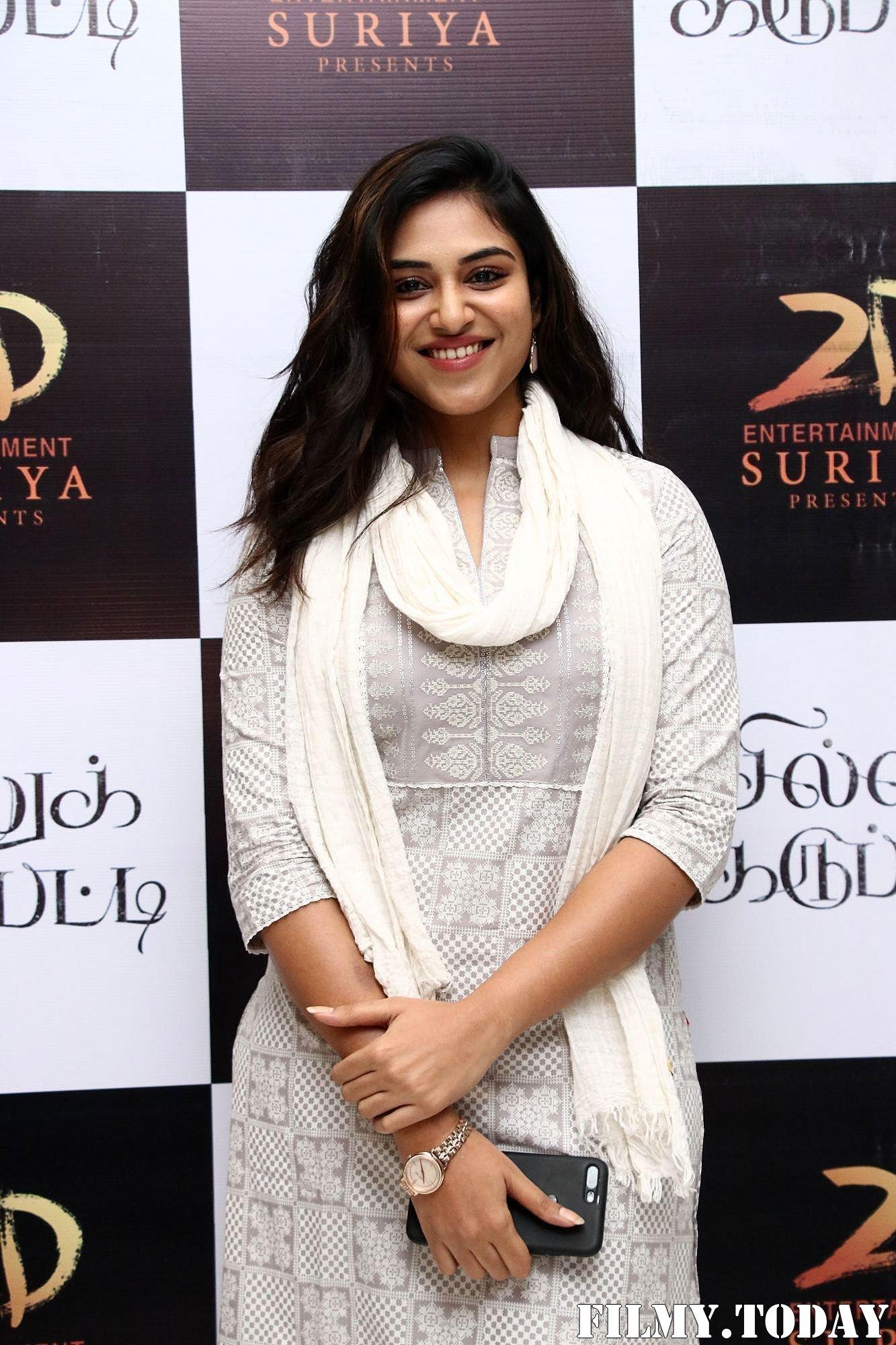 Indhuja Ravichandran - Sillu Karupatti Movie Premiere Show Photos | Picture 1711648