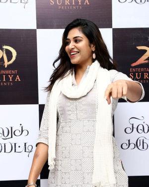 Indhuja Ravichandran - Sillu Karupatti Movie Premiere Show Photos   Picture 1711625