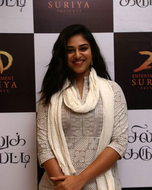 Indhuja Ravichandran - Sillu Karupatti Movie Premiere Show Photos | Picture 1711626