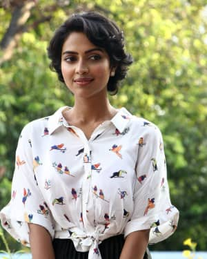 Amala Paul Photos At Aadai Movie Promotions