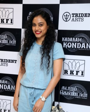 Rupa Manjari - Kadaram Kondan Movie Premiere Show Photos