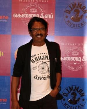 P. Bharathiraja - Kennadi Club Movie Audio Launch Photos