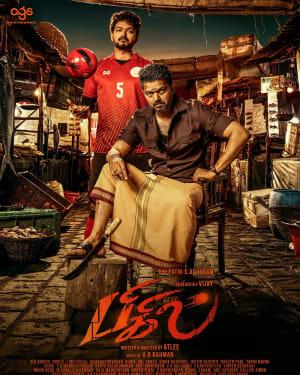 Vijay's Bigil Movie First Look Poster