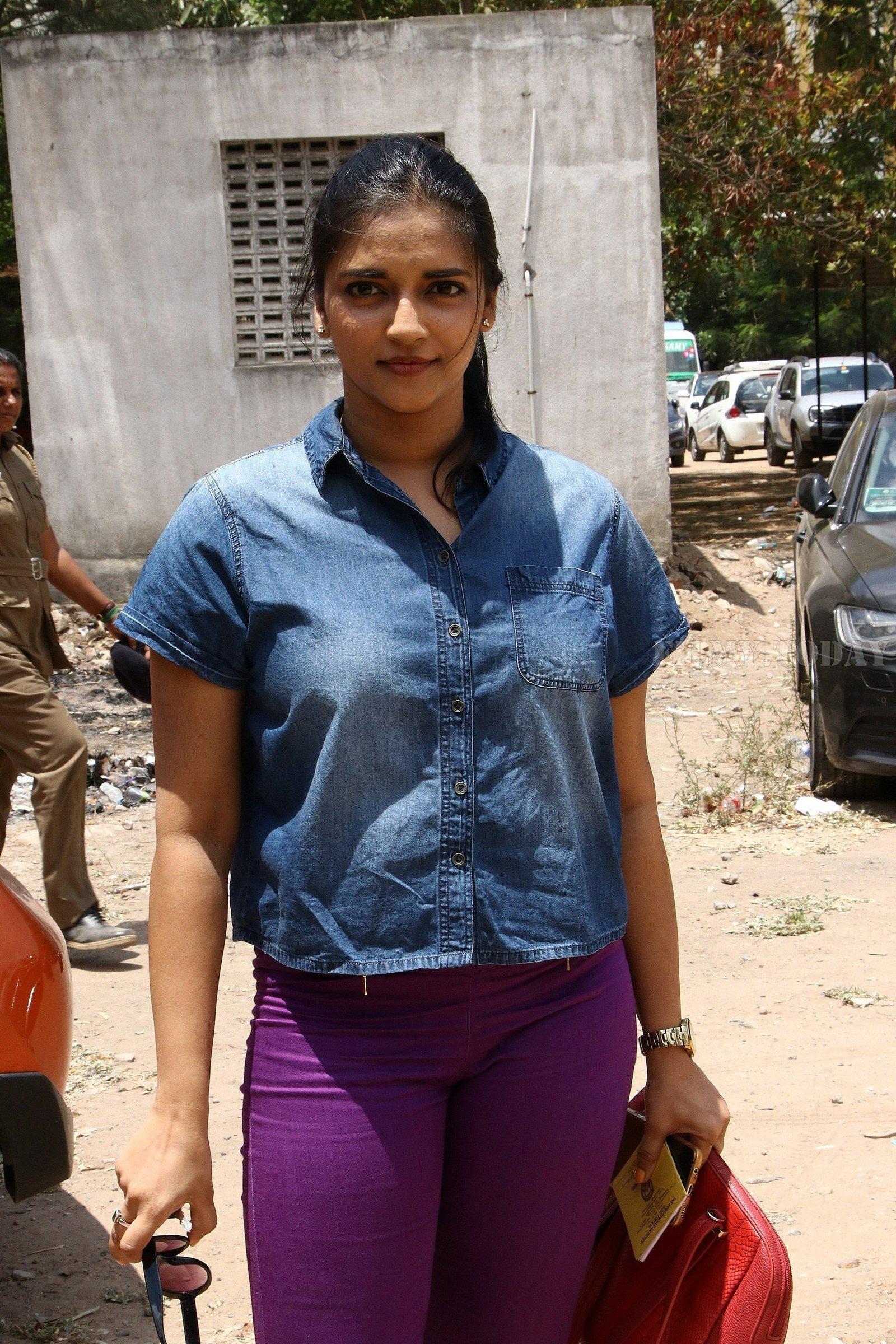 Vasundhara Kashyap - Nadigar Sangam Election 2019 Photos | Picture 1656579