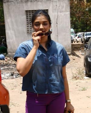 Vasundhara Kashyap - Nadigar Sangam Election 2019 Photos
