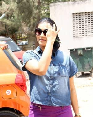 Vasundhara Kashyap - Nadigar Sangam Election 2019 Photos | Picture 1656496