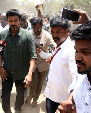 Vijay - Nadigar Sangam Election 2019 Photos