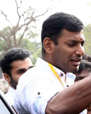 Vishal - Nadigar Sangam Election 2019 Photos