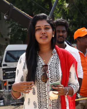 Riythvika - Nadigar Sangam Election 2019 Photos