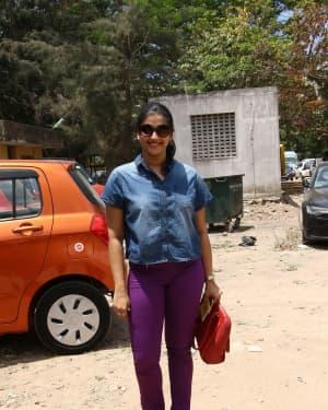 Vasundhara Kashyap - Nadigar Sangam Election 2019 Photos | Picture 1656498