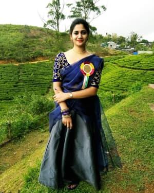 Tamil Bigg Boss 3 Contestant Losliya Mariyanesan Photos   Picture 1657313