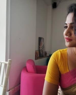 Tamil Bigg Boss 3 Contestant Losliya Mariyanesan Photos   Picture 1657319