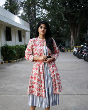 Megha Akash - Boomerang Movie Press Meet Photos | Picture 1630498