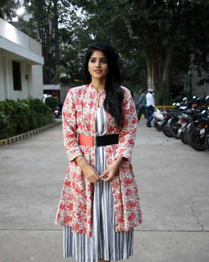 Megha Akash - Boomerang Movie Press Meet Photos | Picture 1630496