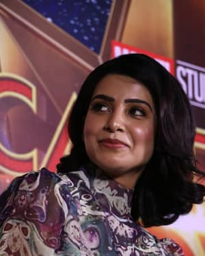Samantha Akkineni - Captain Marvel Press Meet Photos