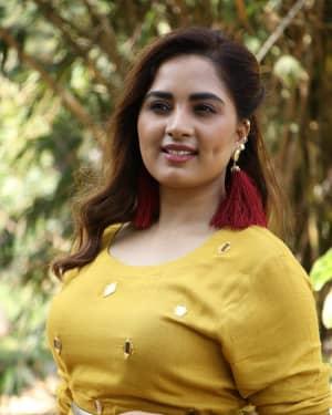 Srushti Dange - Chatru Movie Press Meet Photos