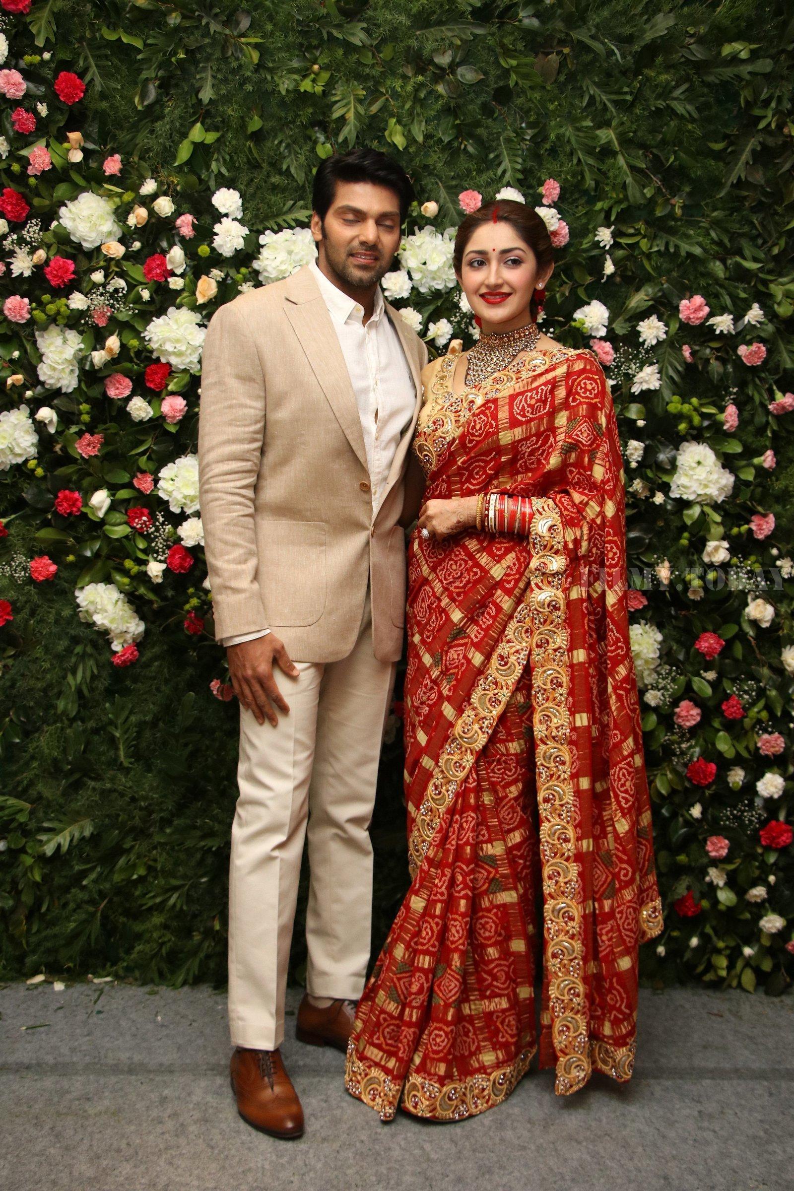 Picture 1635861 | Arya And Sayesha Saigal Wedding Reception Photos