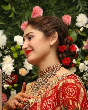 Sayyeshaa Saigal - Arya And Sayesha Saigal Wedding Reception Photos | Picture 1635881