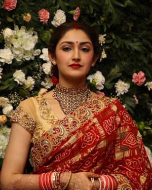 Sayyeshaa Saigal - Arya And Sayesha Saigal Wedding Reception Photos | Picture 1635876