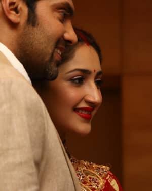 Arya And Sayesha Saigal Wedding Reception Photos | Picture 1635885