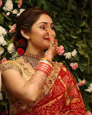 Sayyeshaa Saigal - Arya And Sayesha Saigal Wedding Reception Photos | Picture 1635872