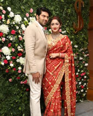 Arya And Sayesha Saigal Wedding Reception Photos | Picture 1635869