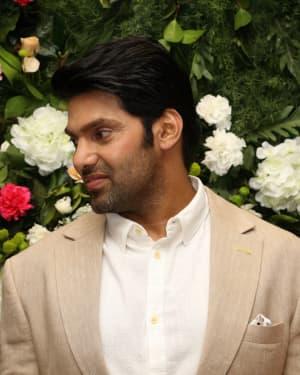 Arya (Actors) - Arya And Sayesha Saigal Wedding Reception Photos