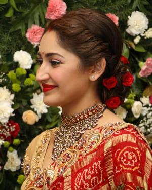 Sayyeshaa Saigal - Arya And Sayesha Saigal Wedding Reception Photos | Picture 1635882