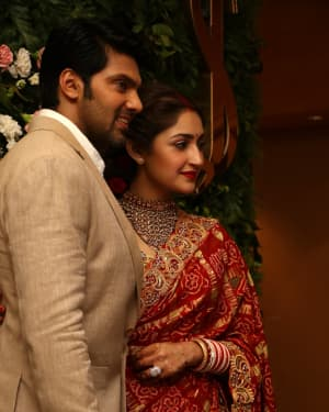 Arya And Sayesha Saigal Wedding Reception Photos | Picture 1635863