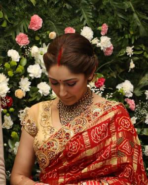 Sayyeshaa Saigal - Arya And Sayesha Saigal Wedding Reception Photos | Picture 1635879