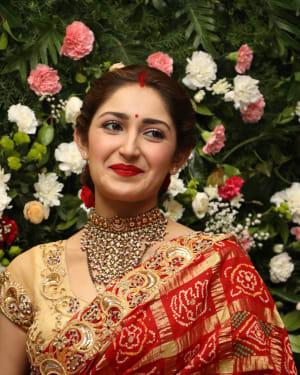 Sayyeshaa Saigal - Arya And Sayesha Saigal Wedding Reception Photos | Picture 1635883