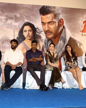 Action Tamil Movie Press Meet Photos