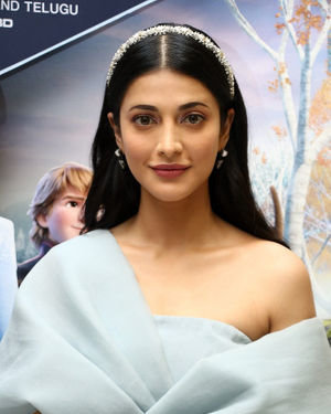 Shruti Haasan - Frozen 2 Tamil Movie Press Meet Photos