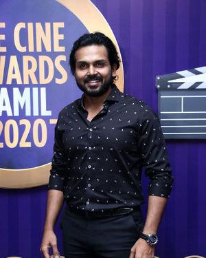 Karthi - Zee Tamil Awards 2019 Press Meet Photos