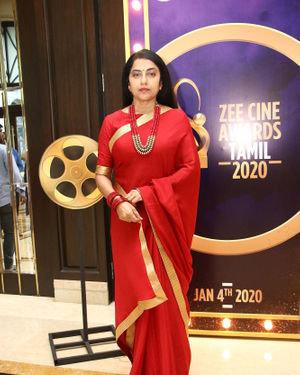 Suhasini Maniratnam - Zee Tamil Awards 2019 Press Meet Photos