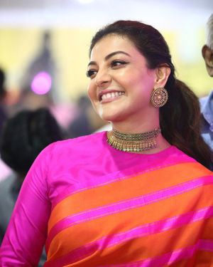 Kajal Aggarwal - Celebs At Vels Vetri Vizha Photos | Picture 1701475