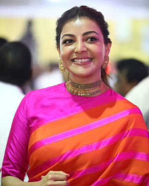 Kajal Aggarwal - Celebs At Vels Vetri Vizha Photos | Picture 1701480