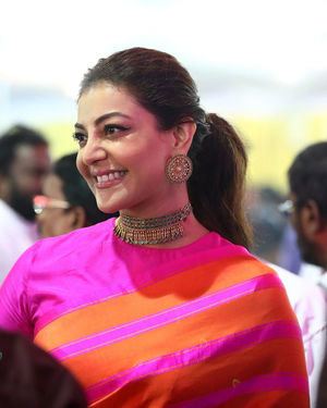 Kajal Aggarwal - Celebs At Vels Vetri Vizha Photos | Picture 1701468