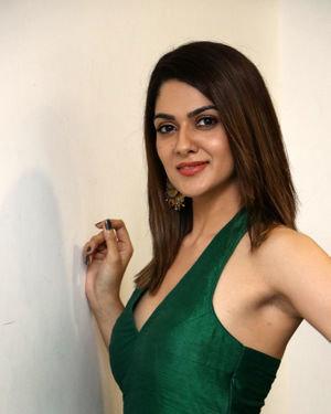 Sakshi Chaudhary - Iruttu Movie Press Meet Photos