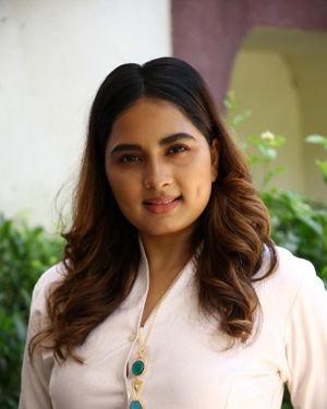 Srushti Dange - Sambavam Movie Pooja Photos