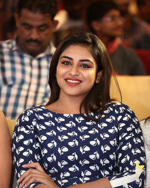 Indhuja Ravichandran - Whistle Movie Pre Release Event At Hyderabad Photos