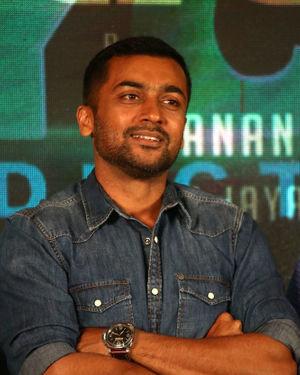 Surya Sivakumar - Kaappaan Movie Press Meet Photos
