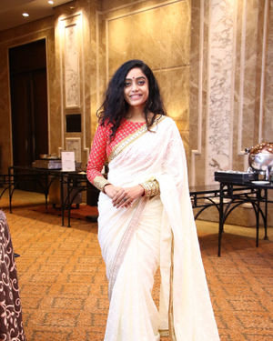 Abhirami Venkatachalam - Launch Of Iru Dhuruvam Tamil Web Series Photos